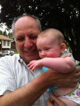 Lauren with Grandpa